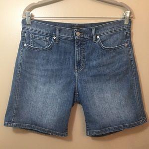 Banana Republic Jean Shorts Premium Denim Blue 4